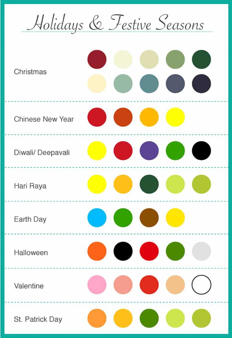 инфографика, создание, цвет