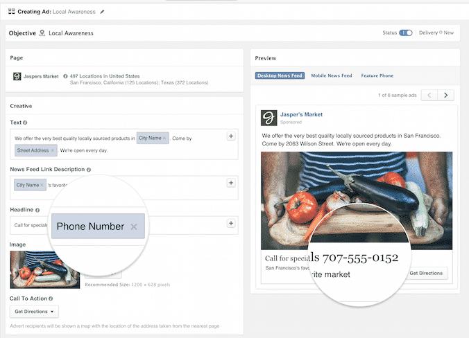 facebook, реклама, таргетинг
