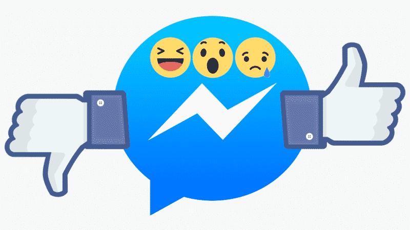 Как использовать новые функции Facebook Messenger: реакции и упоминания