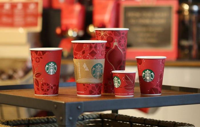 Starbucks, новогодний маркетинг