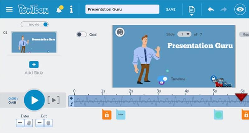 5 лучших инструментов для создания анимированных презентаций