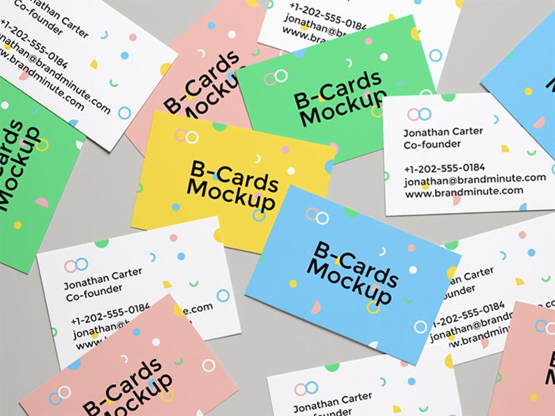 Бесплатные шаблоны для демонстрации визиток