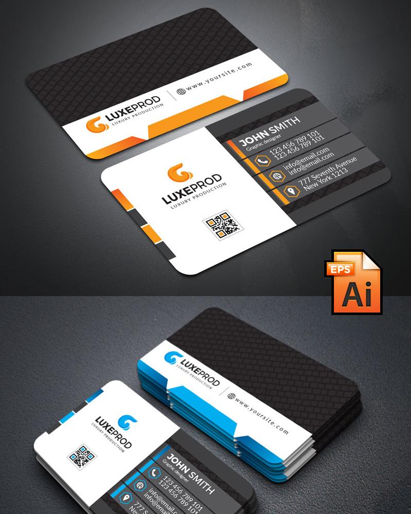 Дизайн визитки John Smith business card