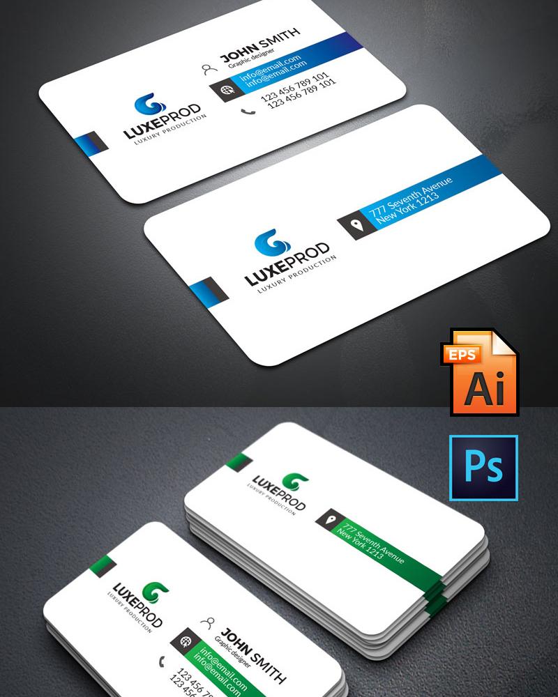 Дизайн визитки Simple Business card