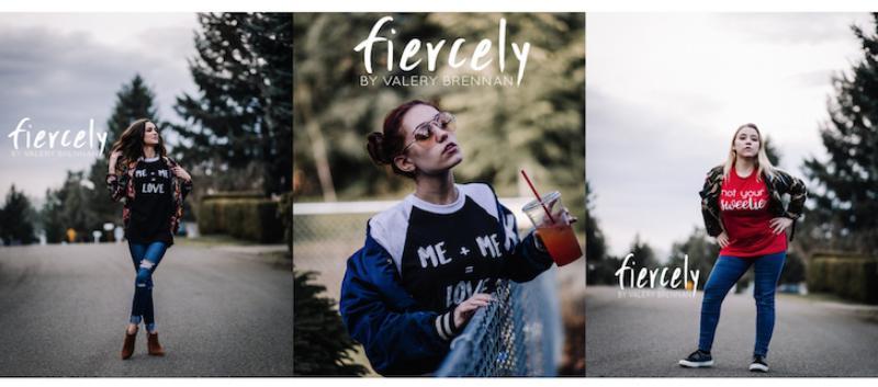 4 fiercely