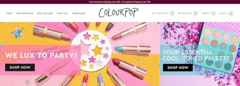 50 colourpop