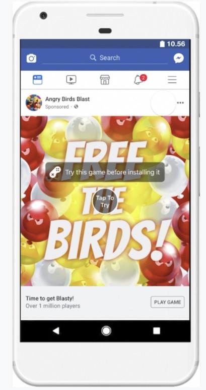 Интерактивная реклама для приложений
