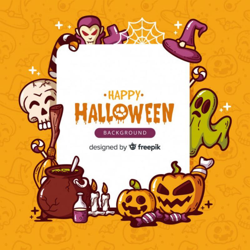 10 lovely-hand-drawn-halloween-background_23-2147926211