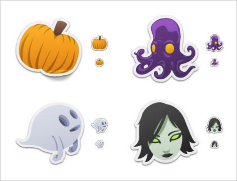 23 Spooky-Stickers-by-David-Lanham