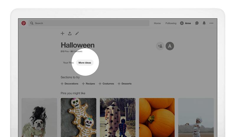 Рекомендации на Pinterest 1