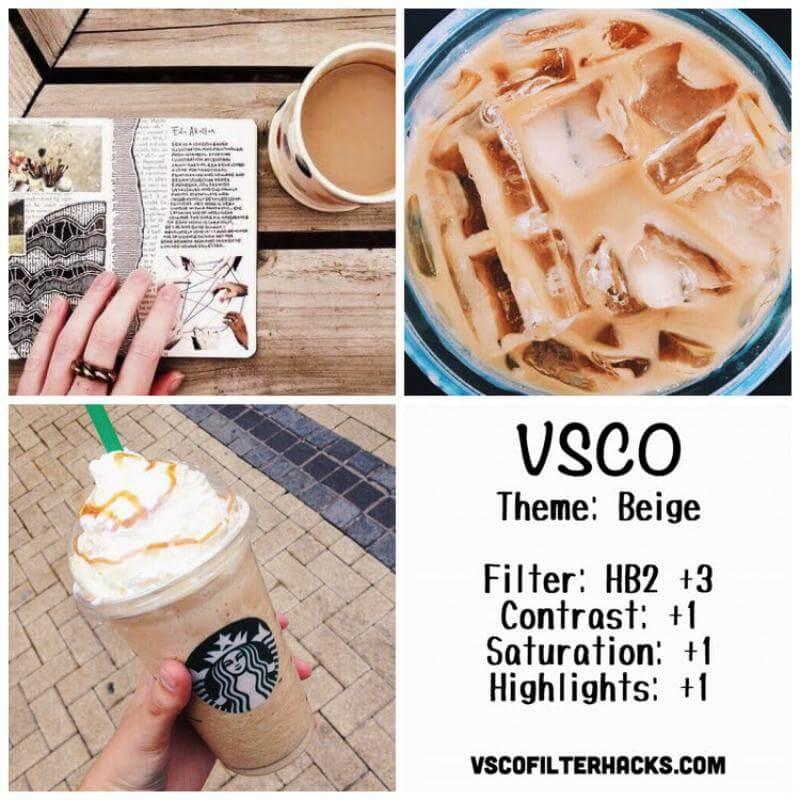 1 Beige Instagram Feed - VSCO Filter HB2