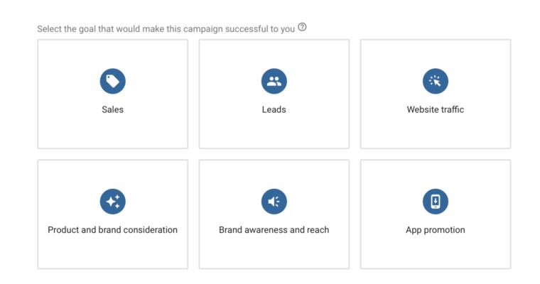 Бизнес-цели от Google Ads