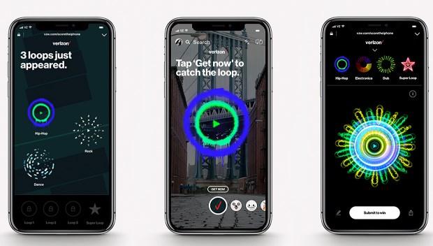Игра с дополненной реальностью от Verizon