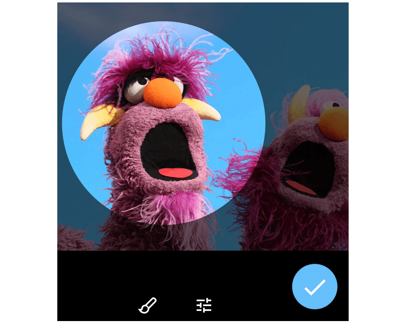 Выбор изображения для аватара