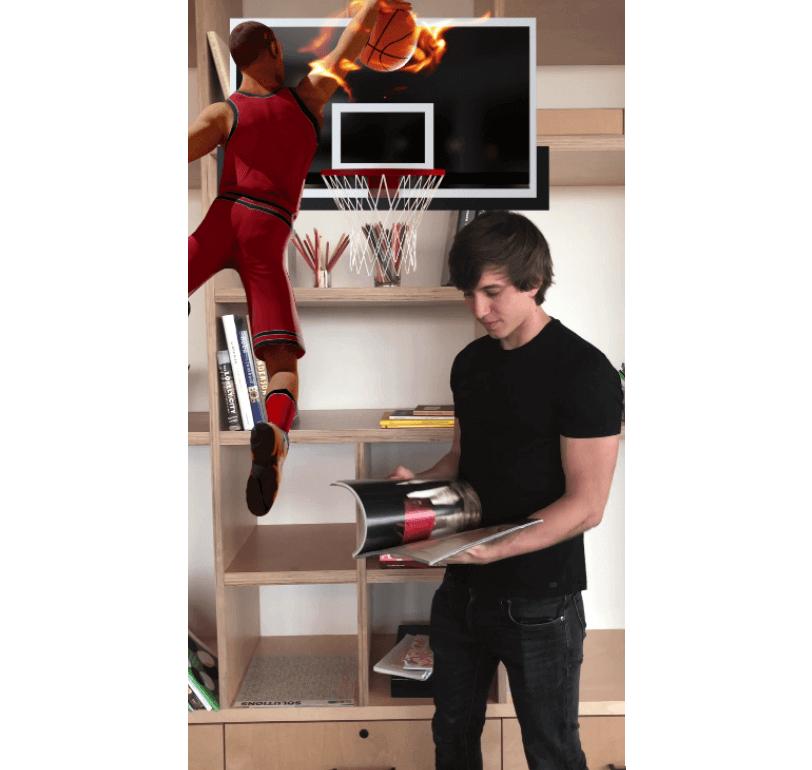 Данк Cam NBA