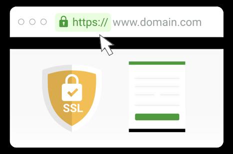 Подключите SSL-сертификат