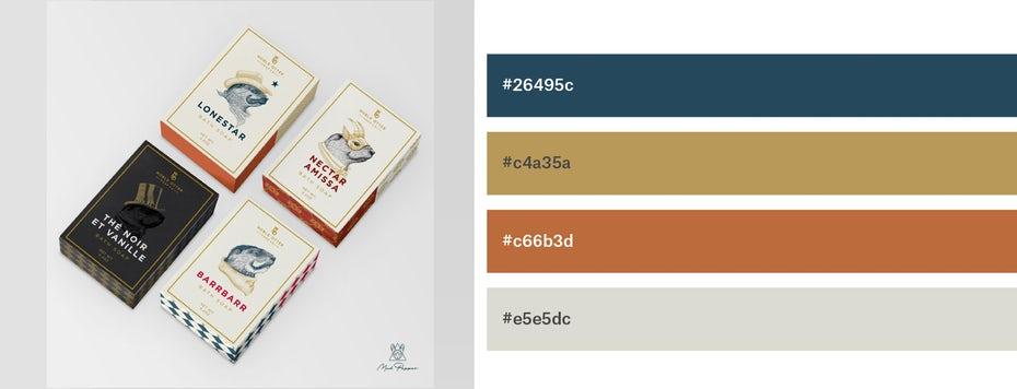 Красивые сочетания цветов для графического дизайна, фото 10