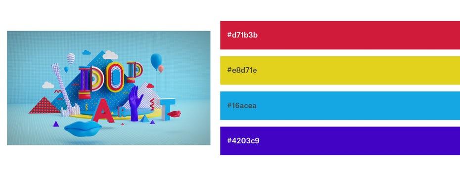 Красивые сочетания цветов для графического дизайна, фото 21