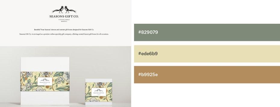 Красивые сочетания цветов для графического дизайна, фото 22