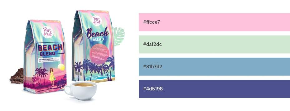 Красивые сочетания цветов для графического дизайна, фото 29
