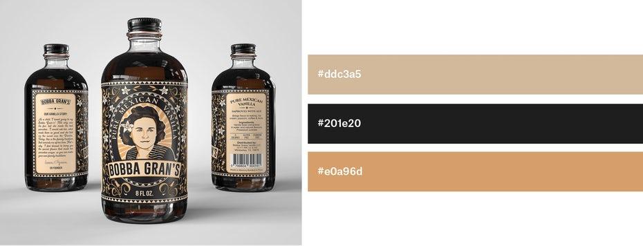 Красивые сочетания цветов для графического дизайна, фото 30